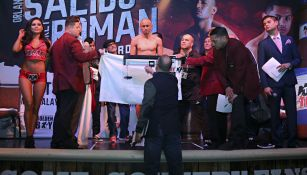 Orlando Salido, durante una ceremonia de pesaje