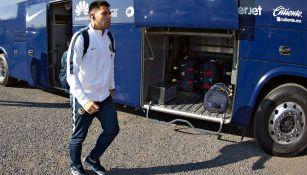 Silvio Romero arriba a Querétaro para duelo de la J1 del C2018