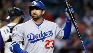 Adrián González, en su paso por Dodgers
