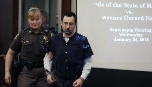 Larry Nassar, durante el juicio en su contra