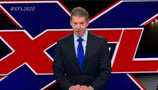 Vince McMahon comunica la llegada de XFL