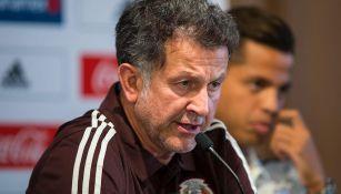 Osorio, en conferencia de prensa