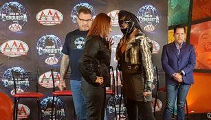 El cara a cara entre Lady Shani y Faby Apache