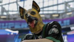 Seguidor de Eagles en el U.S. Bank Stadium