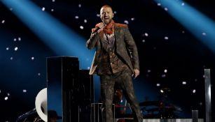 Justin Timberlake, en su show del Super Bowl LII