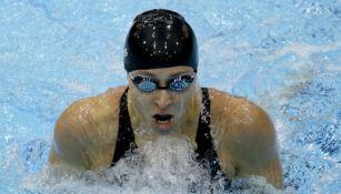 Ariana Kukors, en una competencia de natación