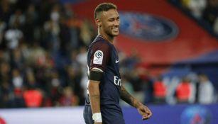 Neymar durante el partido frente a Toulouse