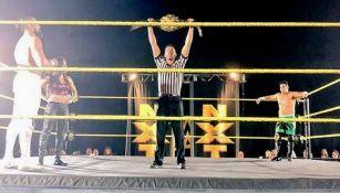 Andrade y Mendoza miran el Campeonato de NXT antes de enfrentarse