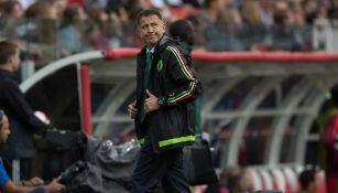 Juan Carlos Osorio, durante un juego de la Selección Mexicana
