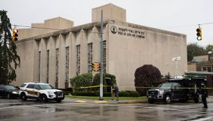 La sinagoga conocida como Tree of Life fue el escenario del tiroteo