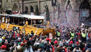 Red Sox recorre Boston con título de Clásico de Otoño 2018