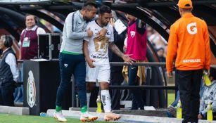 Mendoza se va molesto por su cambio en jugo contra La Máquina