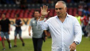 Guillermo Vázquez, durante un encuentro contra Pumas