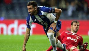 Herrera logró abrir el marcador en sólo dos minutos