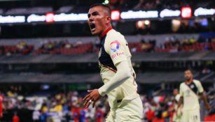 Luis Reyes lanza un grito en el América vs Toluca del A2018