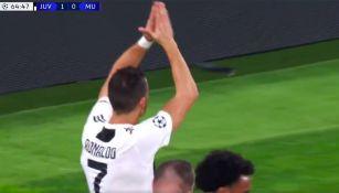Cristiano Ronaldo se disculpa tras anotar contra el Manchester United