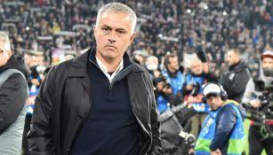 José Mourinho, durante el encuentro ante la Juventus