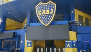 Entrada principal del estadio conocido como La Bombonera