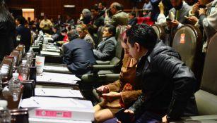 Diputados se preparan para iniciar una sesión