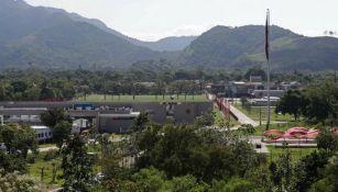Vista del centro de entrenamiento del Flamengo 'Ninho do Urubu'