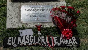 Homenajes a los fallecidos por incendio en el club Flamengo