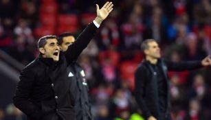 Valverde dirige al Barca en el duelo vs Athletic Bilbao