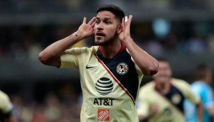 Bruno Valdez celebra anotación contra Chivas