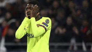 Dembélé lamenta una falla en el torneo español