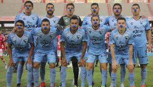 El equipo titular de Tampico para el duelo ante Mineros