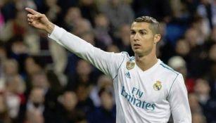 Cristiano Ronaldo durante un partido del Real Madrid