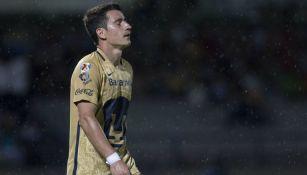 Saúl Berjón lamenta una falla con Pumas