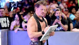 Chris Jericho antes de una lucha
