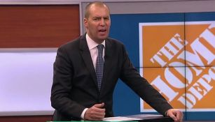 André Marín, durante un programa de Fox Sports