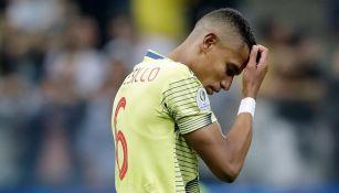 William Tesillo se lamenta tras su falla con Colombia