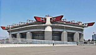 Vista del mítico estadio de San Siro