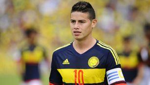 James Rodríguez, en juego con Colombia
