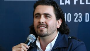 Amaury Vergara, durante conferencia de prensa