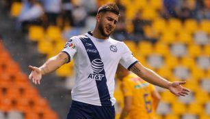 Lucas Cavallini, lamenta error en un duelo con Puebla