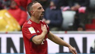 Franck Ribéry, hermano de Steeven, durante un partido con el Bayern Munich