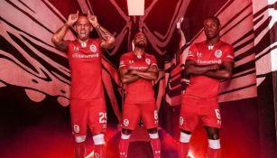 Uniforme de local de Toluca para el Apertura 2019