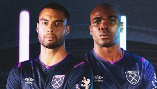 West Ham presentó su nueva indumentaria
