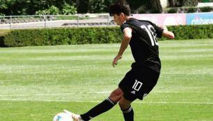 Diego 'Loquito' Abreu marca con la Selección Mexicana