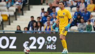 Agustín Marchesín, en el juego entre Gil Vicente y Porto