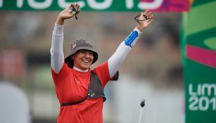 Alejandra Valencia celebra su triunfo
