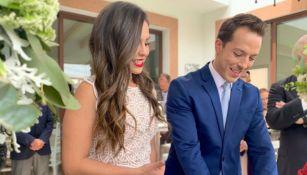Ana Caty Hernández y Xavi Solse unieron en sagrado matrimonio