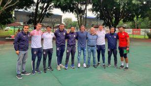 Joan Ramón Tarragó y su equipo