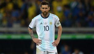 Leo Messi tras quedar eliminado de Copa América