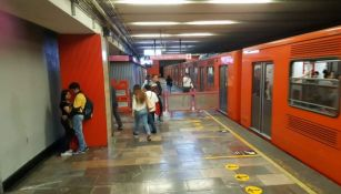 Una estación del Metro de la CDMX