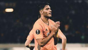 Raúl Jiménez pide disculpas a Bajrić tras marcar gol con Wolves