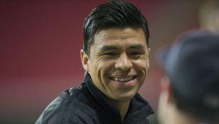 Gonzalo Pineda durante un juego del Seattle Sounders